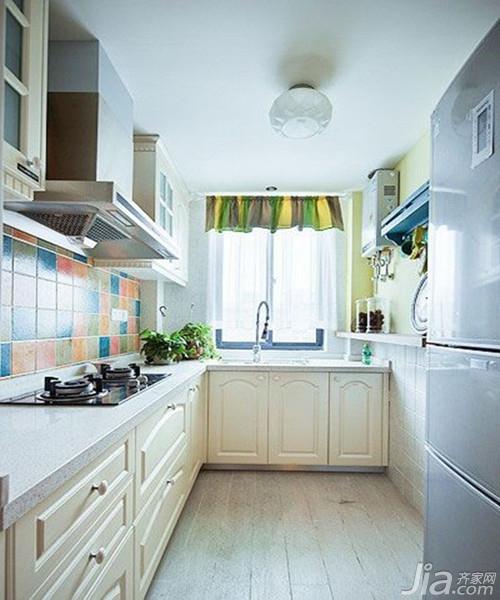 厨房墙砖装修效果图欣赏