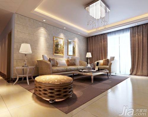 能强瓷砖图片 能强瓷砖客厅效果图欣赏
